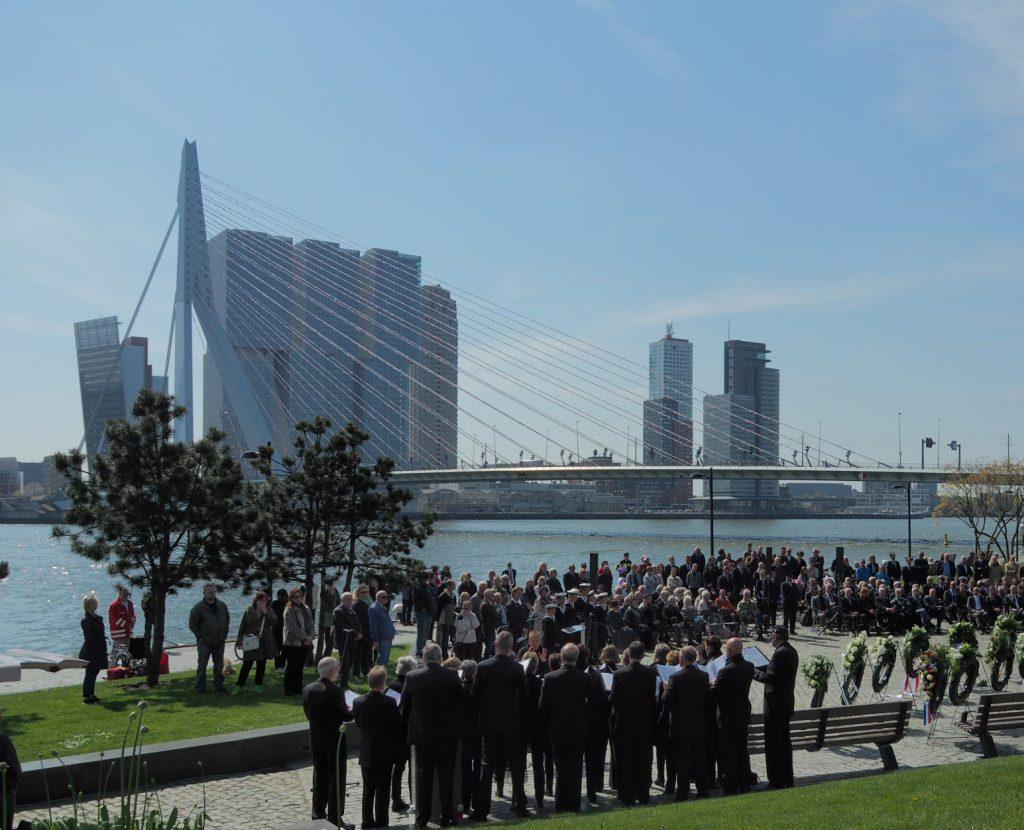 4 mei herdenking Rotterdam 2016